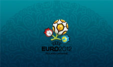 Euro 2012 wallpaper for smartphone, blue, 800 x 480