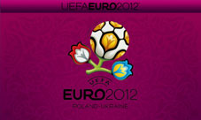 Euro 2012 wallpaper for smartphone, purple, 800 x 480